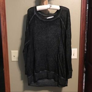 Maurices Lightweight Burnout Tunic Shirt Plus size